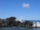 Wellen an der Pazifikkueste