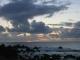 Sonnenuntergang an der Felskueste