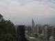 Blick auf Santiago de Chile vom Gipfel des Cerro Santa Lucia