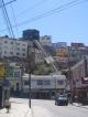 Ein Ascensor in Valparaiso