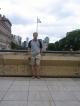 Das bin ich im Parque Colon