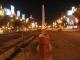 Der Obelisco bei Nacht