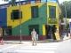 Ein buntes Haus im Stadtteil La Boca