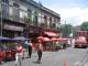 Strassencafes in La Boca