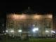 Das Teatro Colon bei Nacht
