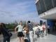 An Bord der Faehre von Buenos Aires nach Colonia in Uruguay