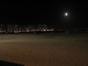 Der Strand von Punta del Este bei Nacht
