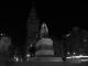Der Plaza Independencia bei Nacht