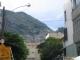 Favelas an einem Hang in Botafogo