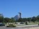 Ein Monument vor dem Zuckerhut