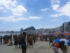 Hochhaeuser reihen sich entlang der Strandstrasse