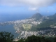 Blick vom Corcovado auf Ipanema, Leblon und das Hipodromo