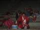 Eine bolivianische Familie bei einem Treffen der Landbewohner