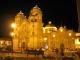 Die Iglesia La Compania bei Nacht