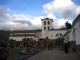 Die Kirche und der Markt von Chichero