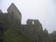 Wieder aufgebaute Ruinen am Eingang zum Ruinenkomplex