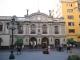 Ceci vorm ehemaligen Hauptpostamt der Stadt Lima