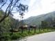 Nicht die Alpen, sondern Bergwelt auf dem Weg nach Bogota in Kolumbien