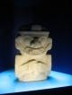 Nicht aus Gold aber trotzdem im Goldmuseum steht dieser Stein