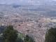 Die Altstadt Bogotas vom Gipfel des Monserrate