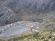 Zwei kleine Bergseen nahe der hoechsten Gondelstation