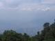Und in die Gegenrichtung durch den Smog auf die Grossstadt Caracas