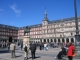 Meine Eltern am Plaza Mayor in Madrid