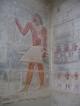 Wandbemalung in der Grabanlage des Ti