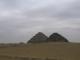 Zwei kleine Pyramiden in Sakkara