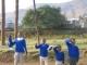 Basutische Schulkinder in Mokhotlong