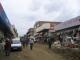Die Marktstrasse von Maseru