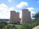 Ein Kraftwerk im Stadtzentrum von Bloemfontein