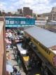 Die Marktgegend in der Naehe des Bahnhofs