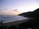 Der Strand von Wilderness am Abend
