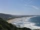 Ein letzter Blick auf Wilderness Beach vom Dolpgin Point an der N2