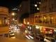 Die Long Street in Kapstadt bei Nacht