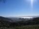 Blick von der Talstation der Seilbahn des Tafelberges auf die Tafelbucht