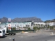 Die Victoria Wharf Mall und der Tafelberg
