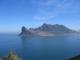 Der Sentinel vom Chapmans Peak aus