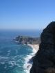 Ein Felsen des Cape Point und das Cape of Good Hope