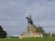 Das Reiterdenkmal an den Regierungsgebaeuden