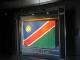 Die namibianische Nationalflagge