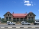 Die Bank of Namibia in einem Gebaeude in Suedwestafrika entstand