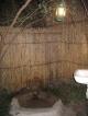 Die Dusche des Ngepi Camps bei Divundu
