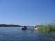 Auf unserer Kanutour auf dem Okavango River