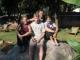 Abschiedsfoto mit Judith, mir, Marc und Trini