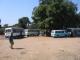 Der Minibus Bahnhof von Livingstone