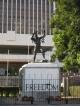 Die Freiheitsstatue von Lusaka