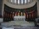 Der Altar der Kathedrale, an dem Punkt wo frueher Sklaven versteigert wurden