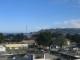 Blick aus meinem Hotelzimmer in Mwanza auf den Victoriasee